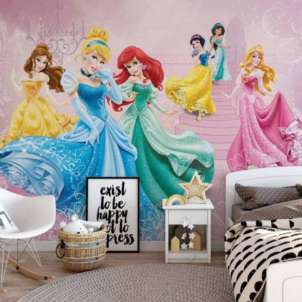 Easy to apply wallpaper Disney Princesses